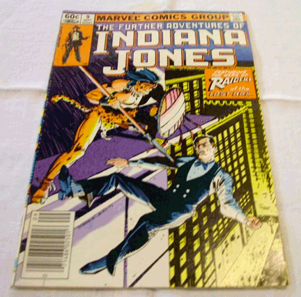 Indiana Jones, 1983, Marvel Comics Group, The Further Adventures of Indiana Jones, Vol. 1, No. 9, September 1983 , Raiders of the Lost Ark
