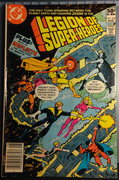 The Legion of Super-Heroes, Vol. 33, No. 278, August 1981, DC Comics Inc., Gerry Conway,